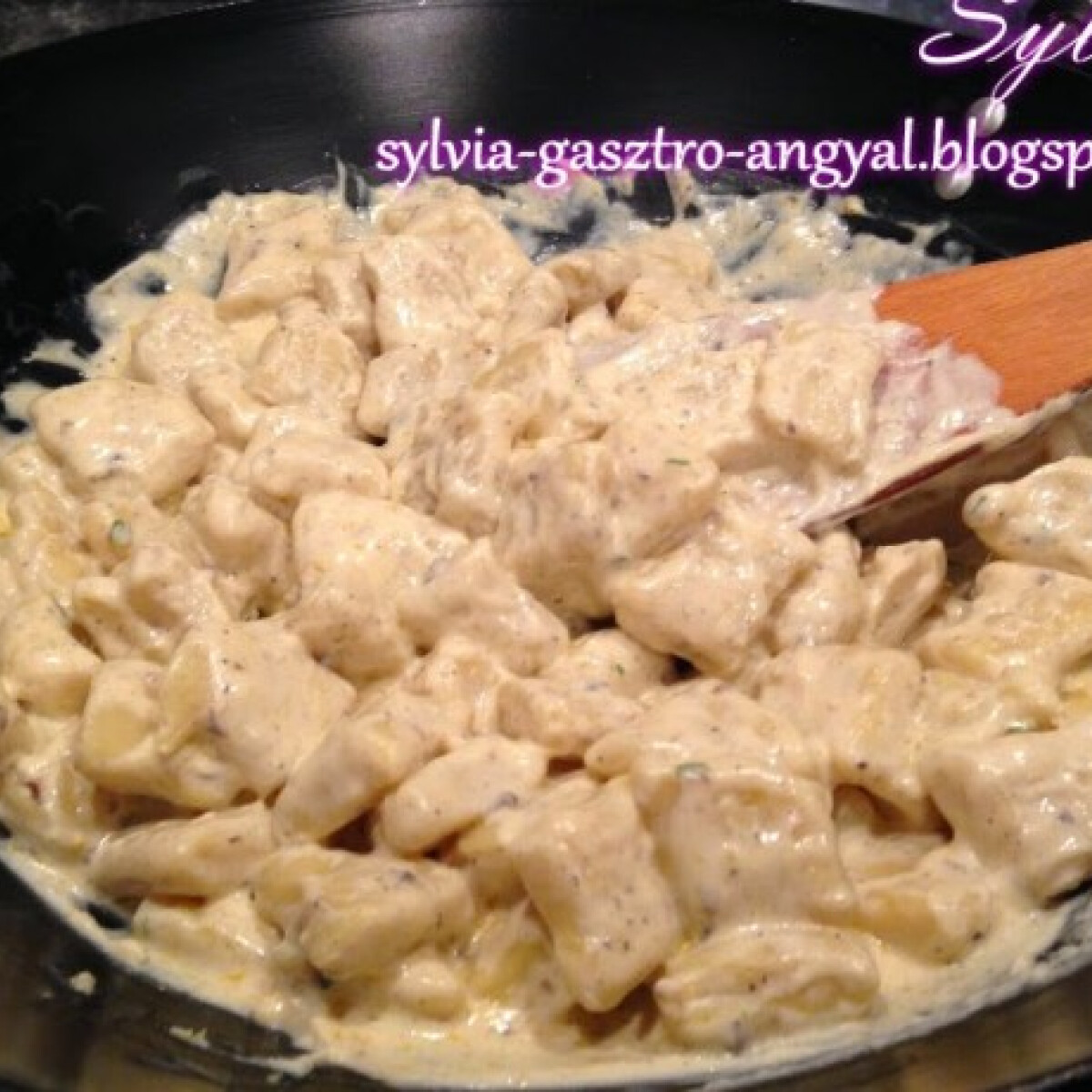 Szarvasgombás gnocchi Sylvia Gasztro Angyal konyhájából