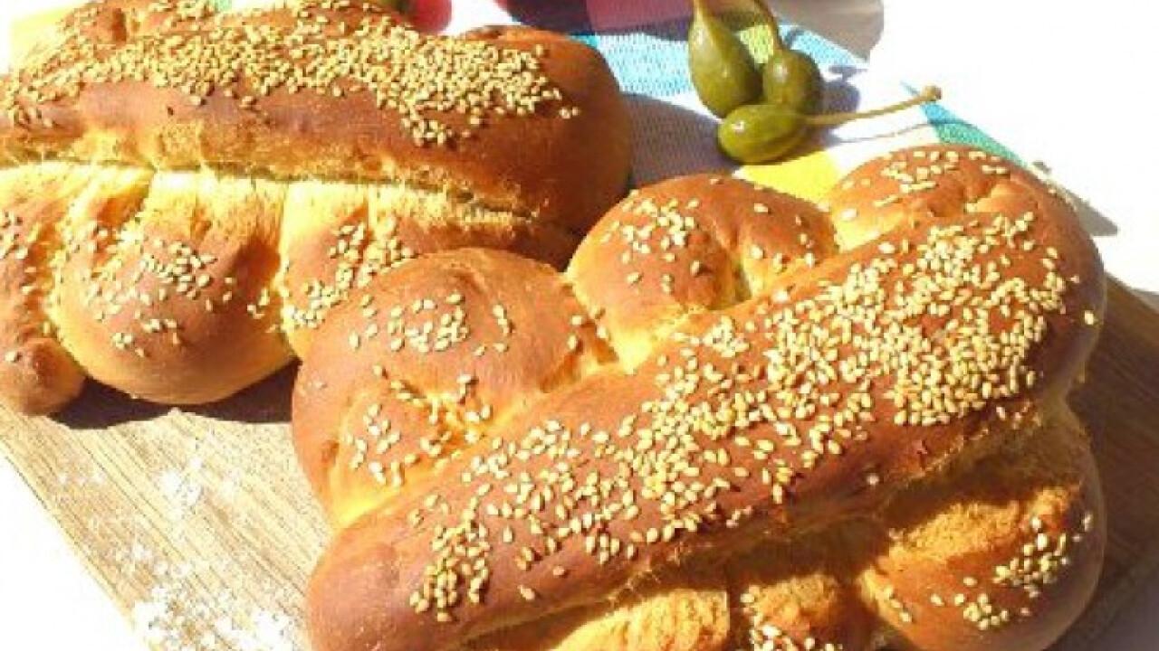 Mafalda-szicíliai szezámos kenyér