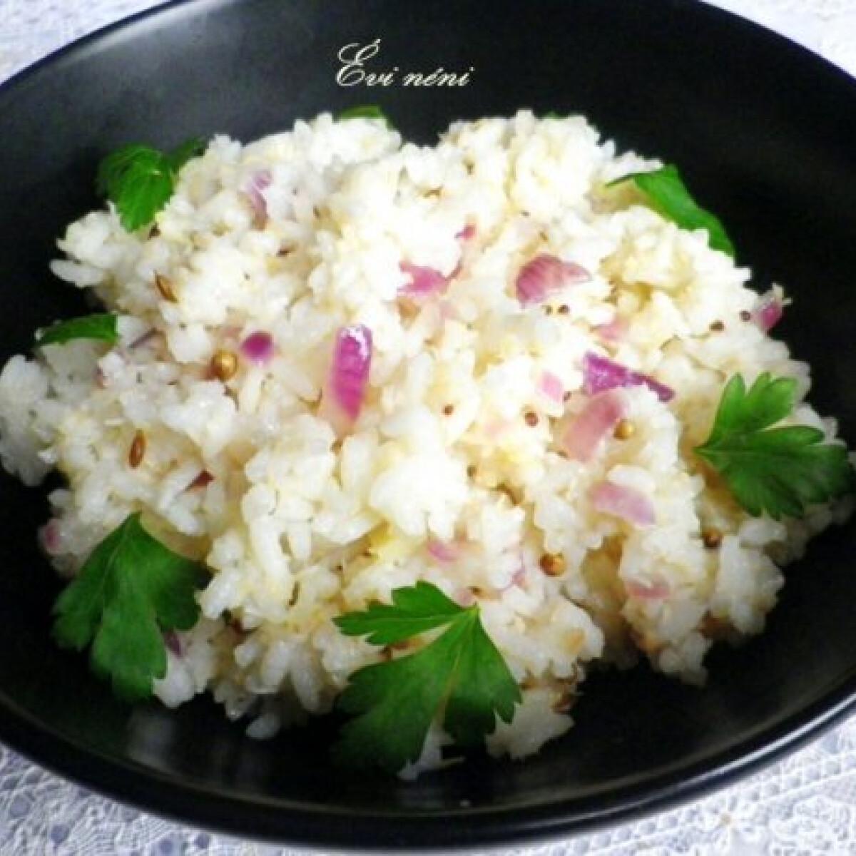 Ezen a képen: Kókuszos rizs Évi néni konyhájából