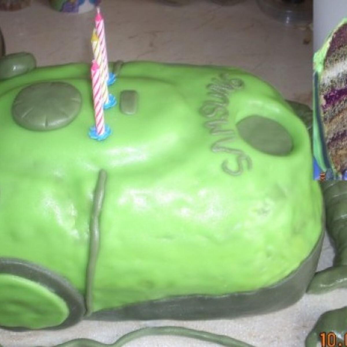 Porszívó torta
