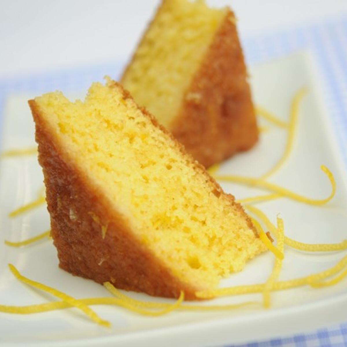 Ezen a képen: Görög citromos süti