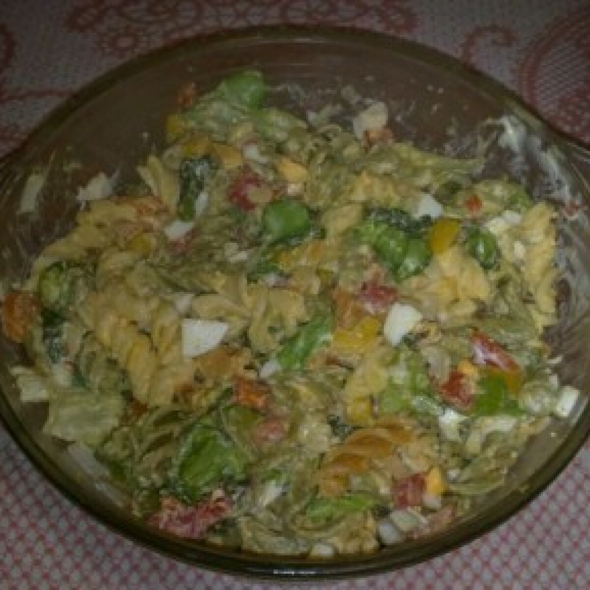 Majonézes-zöldséges tésztasaláta 2.