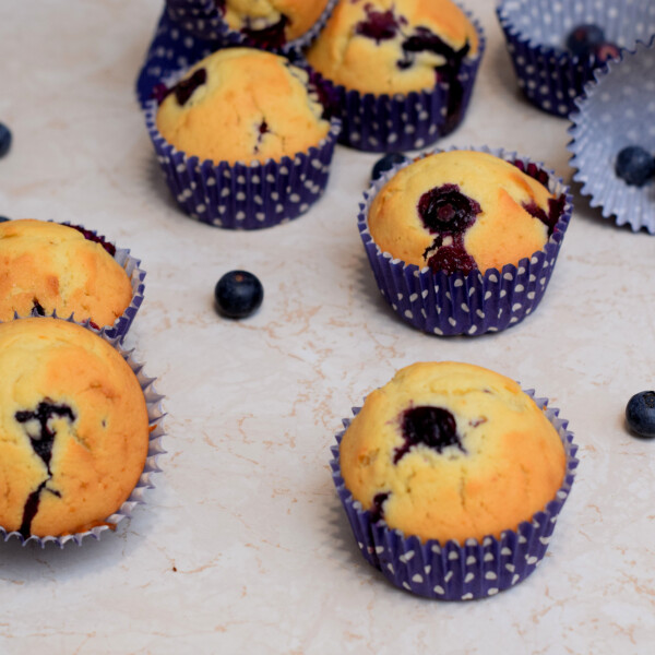 A legfinomabb áfonyás muffin
