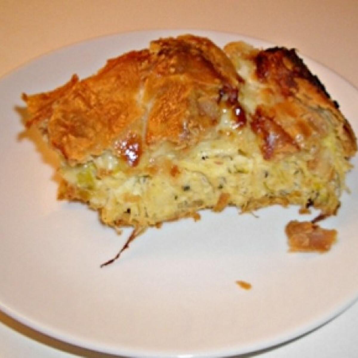 Ezen a képen: Savanyú káposzta torta