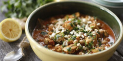 Murgh cholay - csirkés-csicseriborsós curry