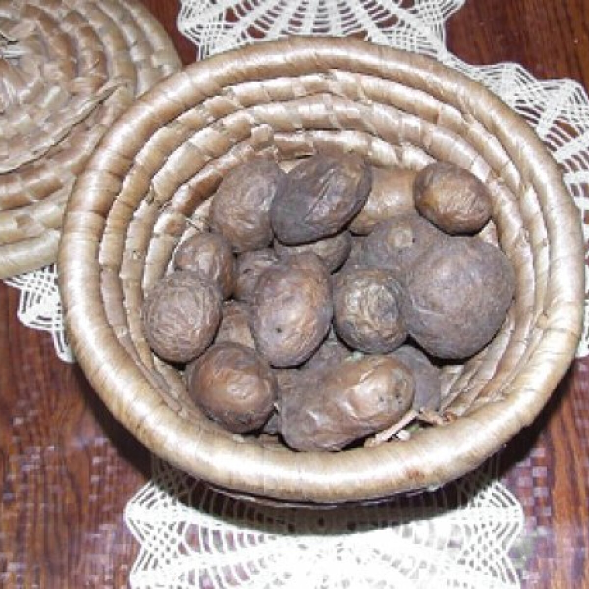 Ezen a képen: Héjában sült krumpli