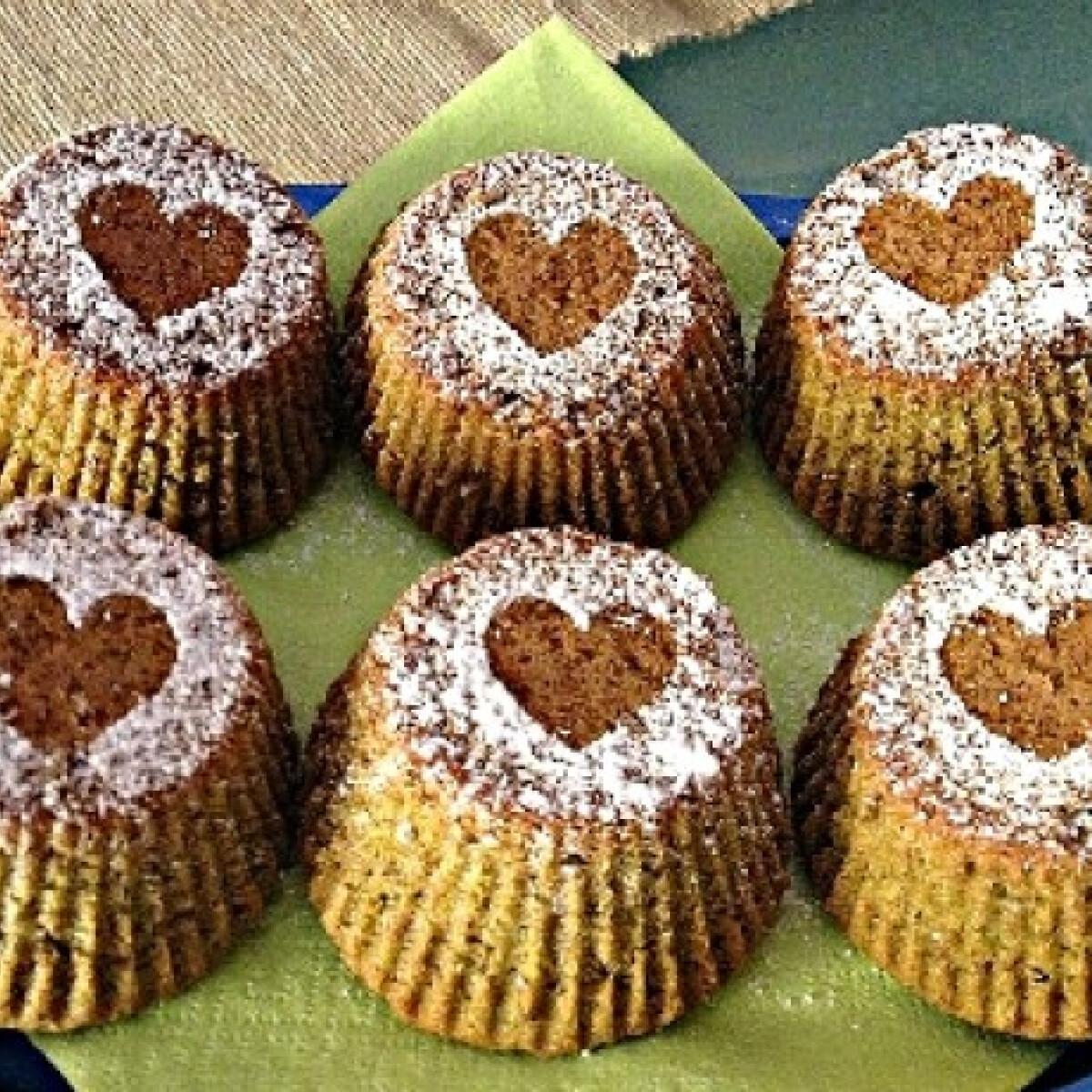 Gluténmentes mini pisztácia torták