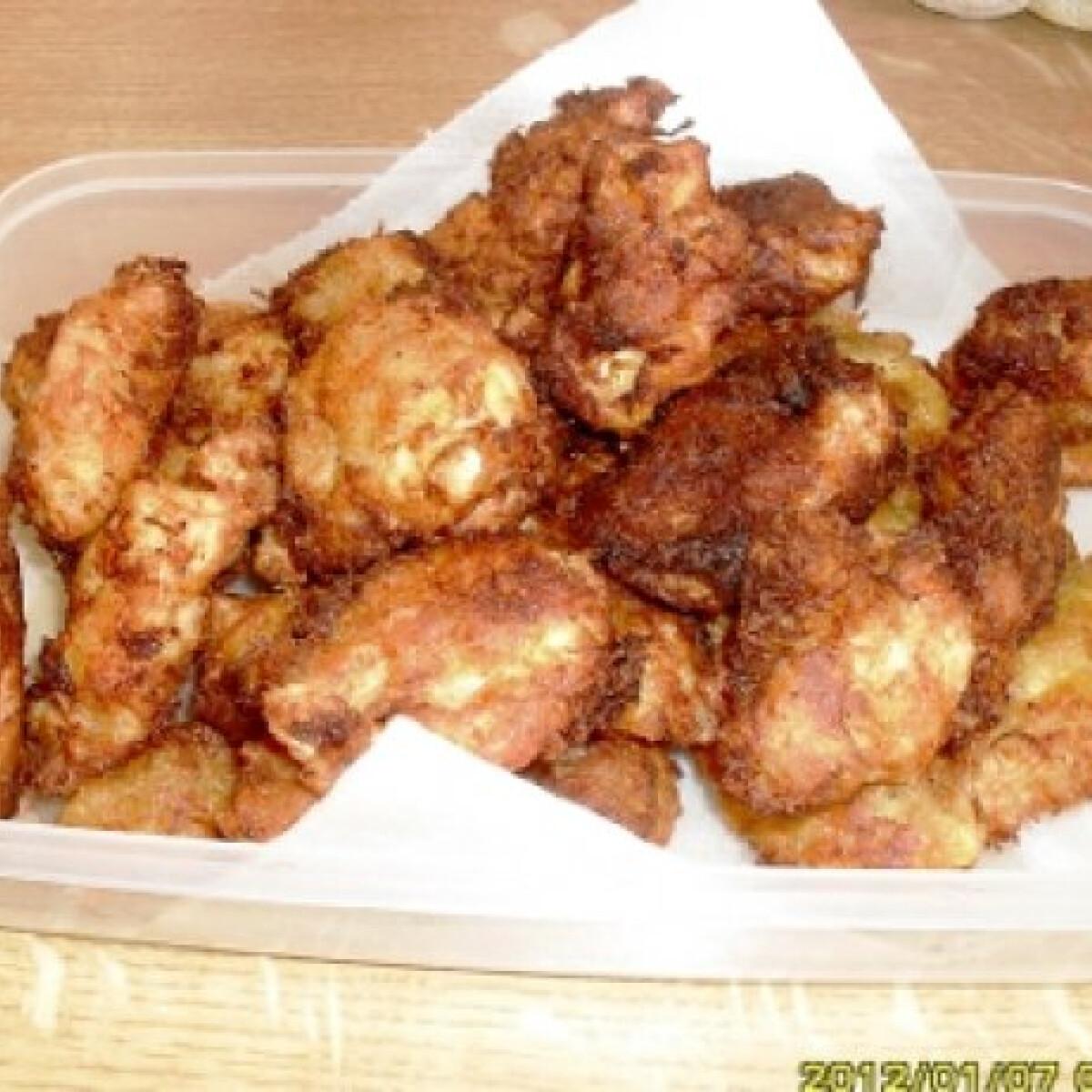 Zöldségbundás csirkemell