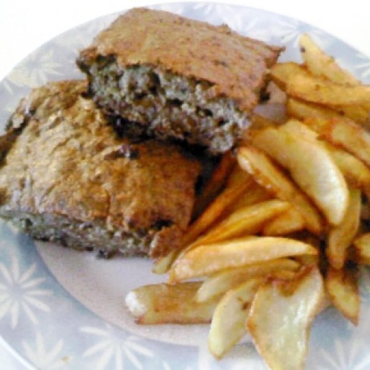 Ezen a képen: Krumplis-májfasírt kocka