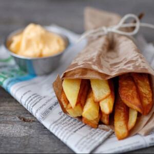 Belga sült krumpli