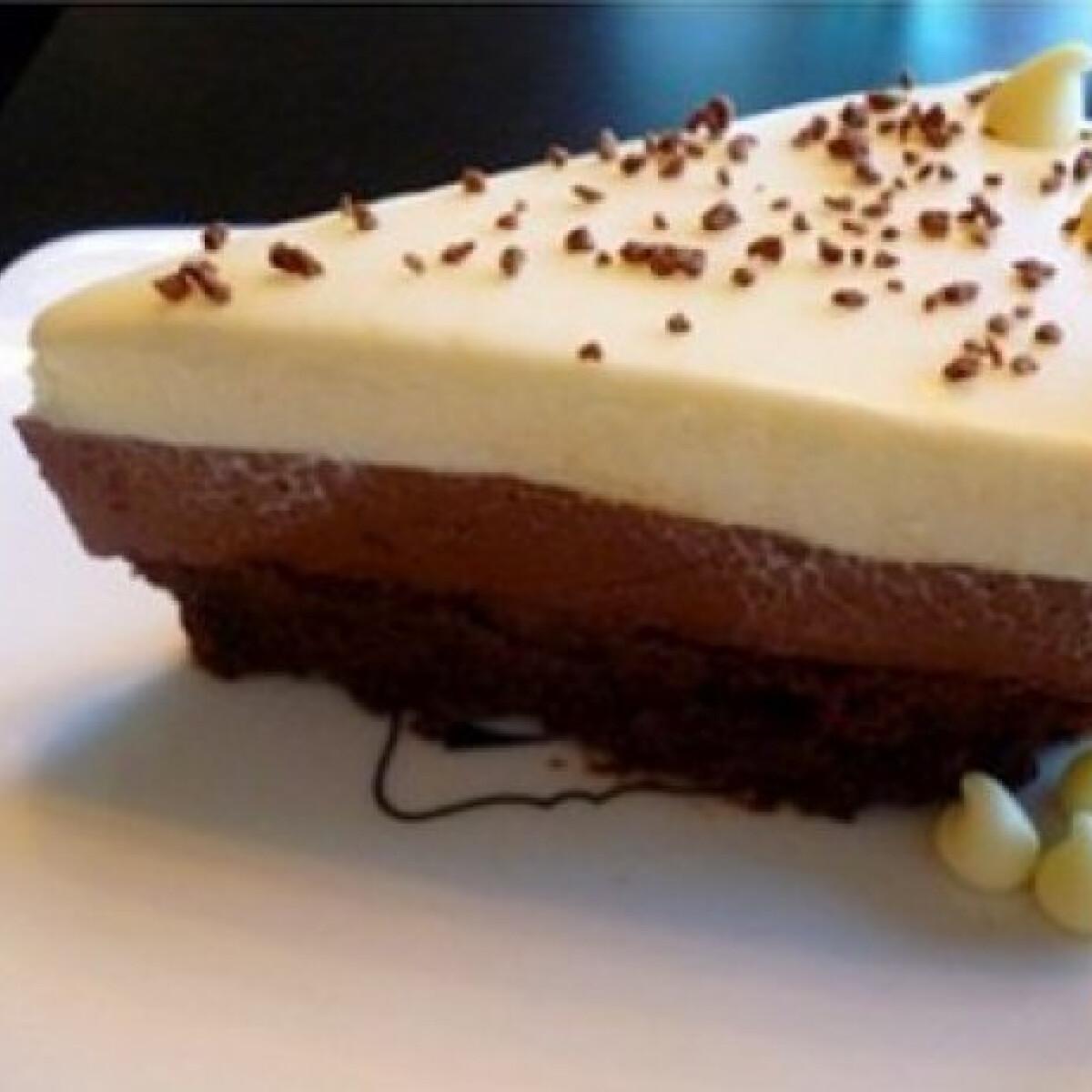 Ezen a képen: Csokoládé mousse torta Cilantro konyhájából