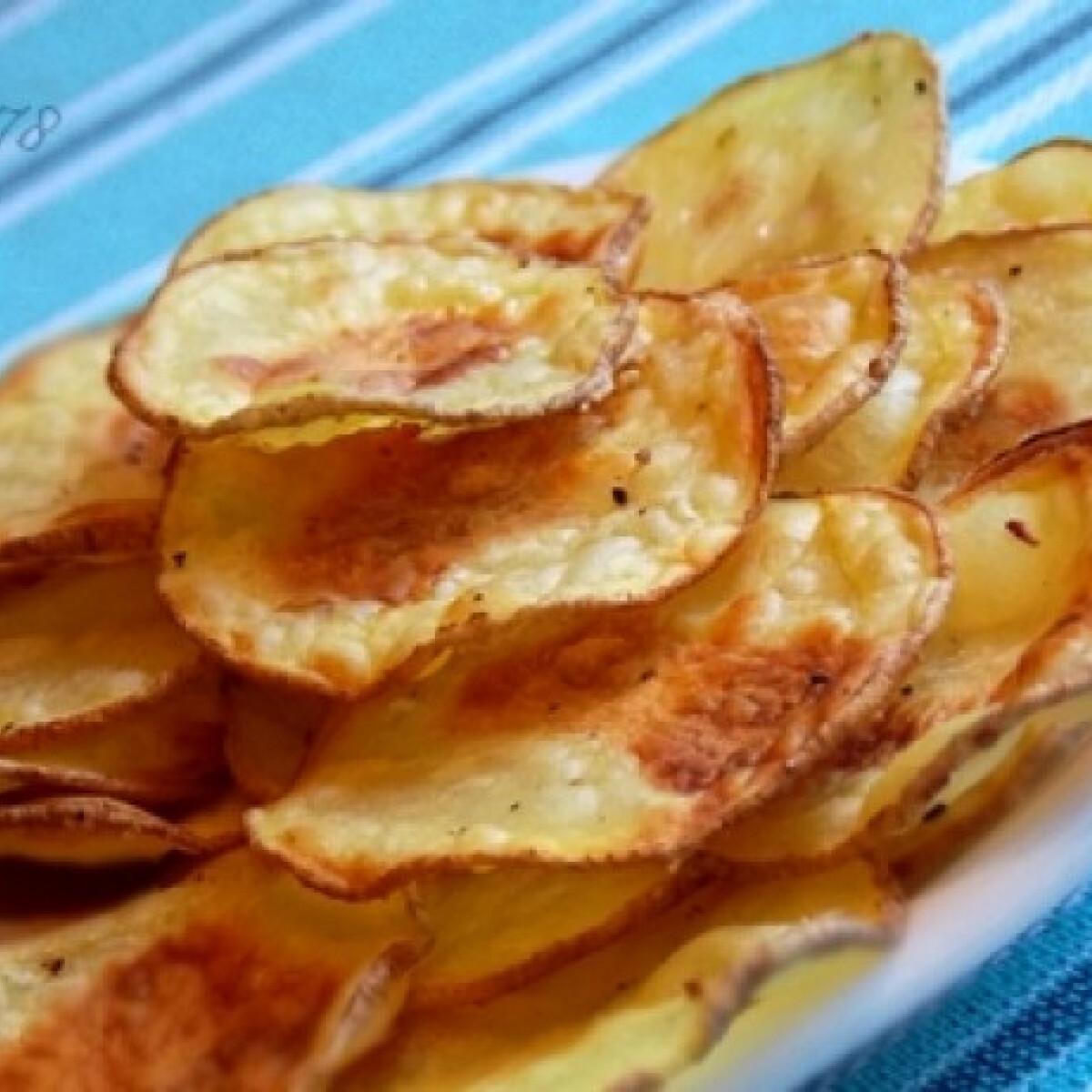 Ezen a képen: Chips a sütőből
