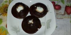 Szénhidrátcsökkentett csokis-túros muffin
