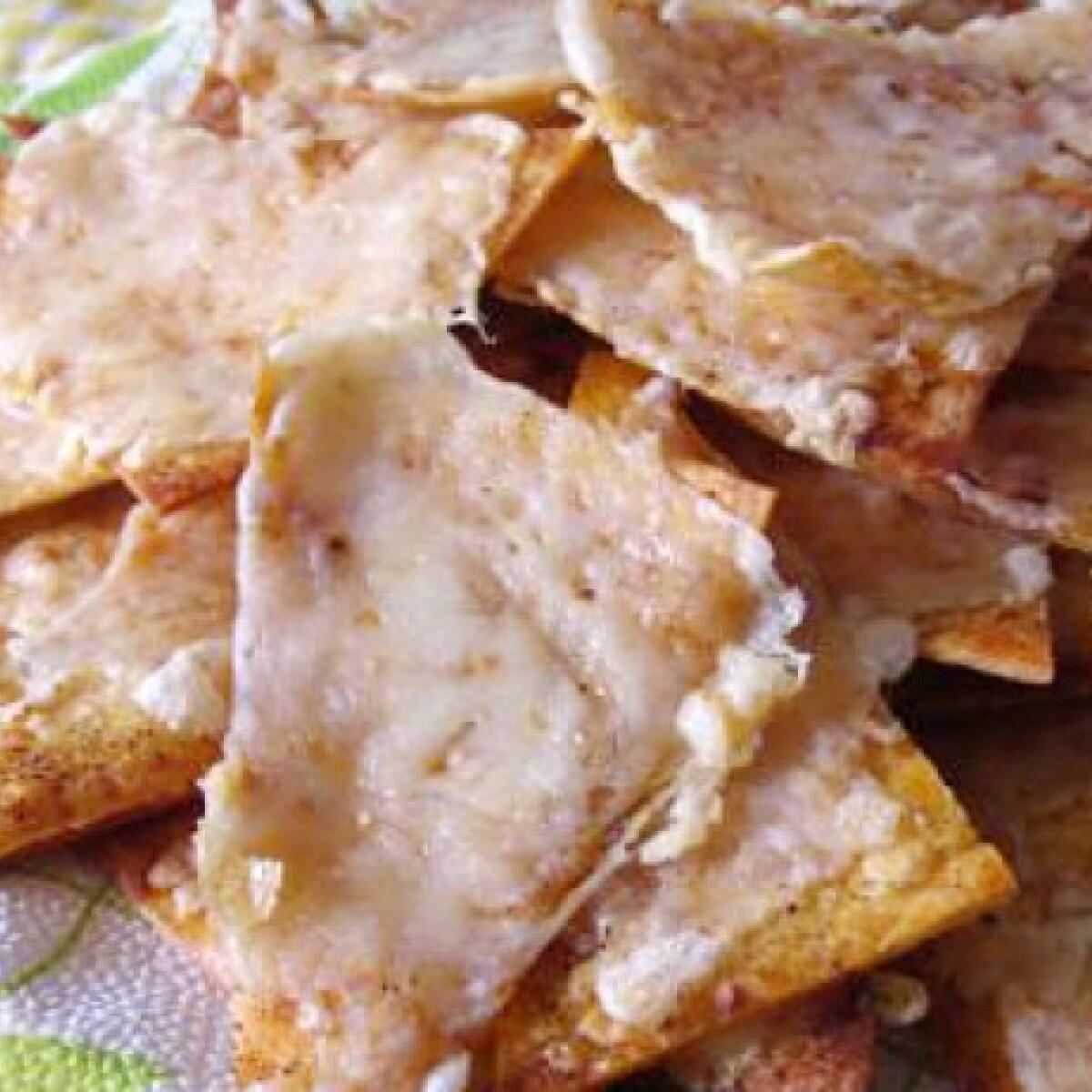 Ezen a képen: Házi nachos