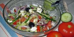 Görög saláta Iluskától