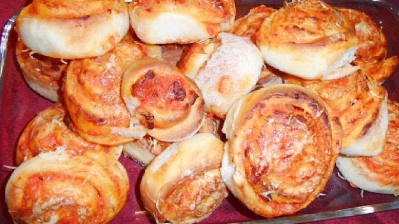 Pizzás csigák N. Olga konyhájából