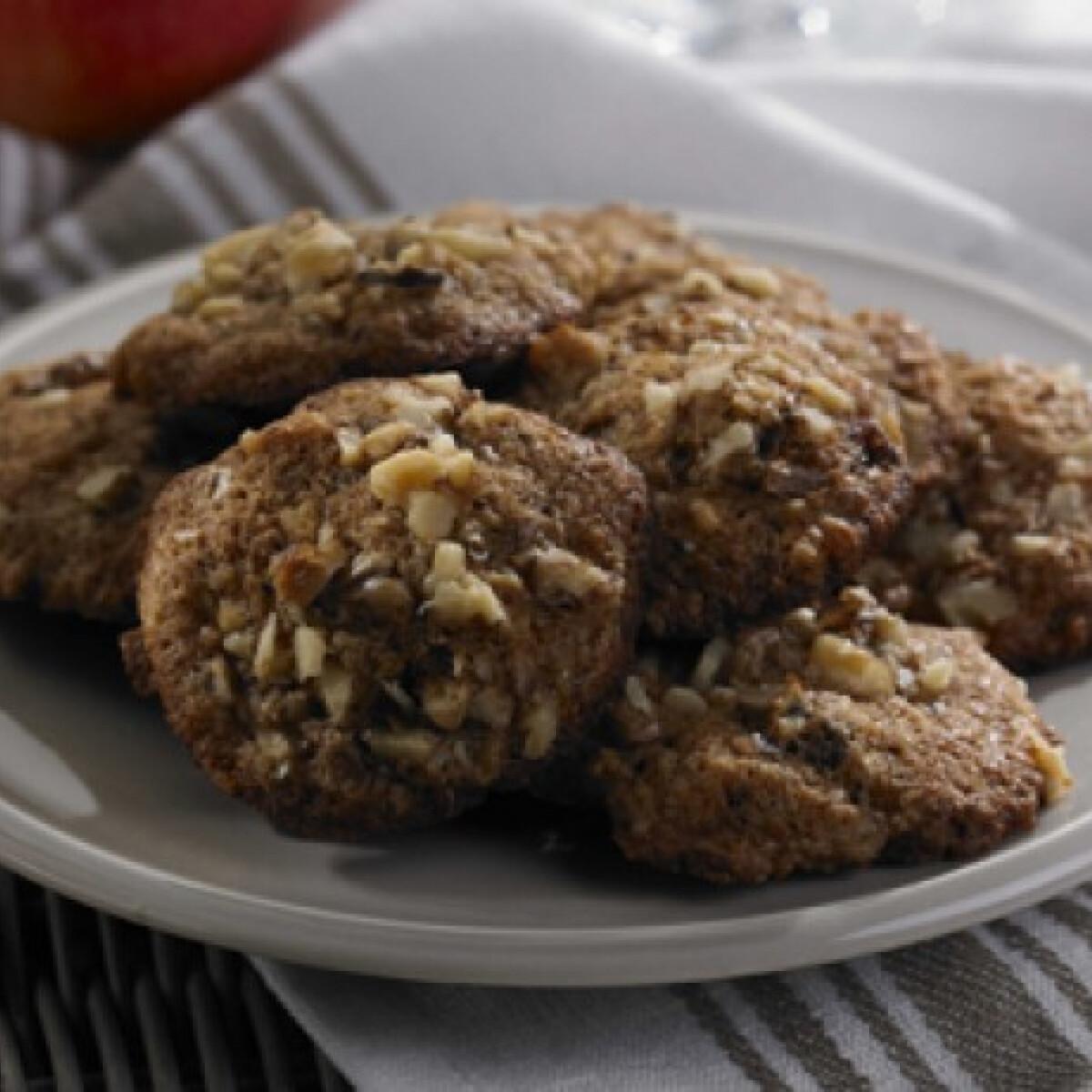 Ezen a képen: Almás fűszeres cookie