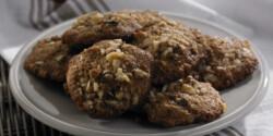 Almás fűszeres cookie
