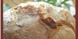 Sokmagvas dagasztás nélküli házi kenyér