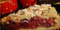 Meggyes pite Margó konyhájából