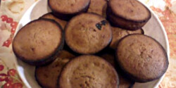 Csokipudingos-túró rudis muffin