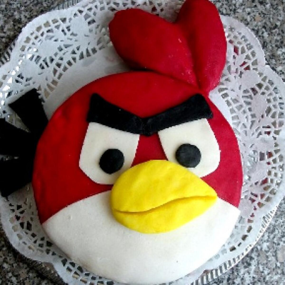 Ezen a képen: Mérges madarak torta