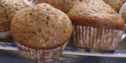 Amerikai kávés muffin csokidarabkákkal