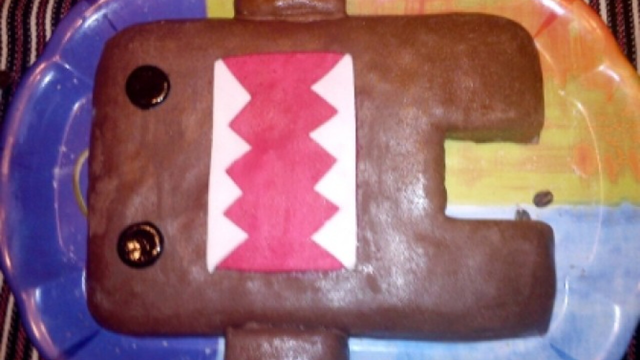 Domo-kun torta