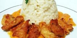 Sárgabarakcos-gyömbéres csirkemell