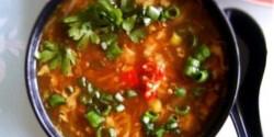 Kínai csípős-savanyú leves 2.