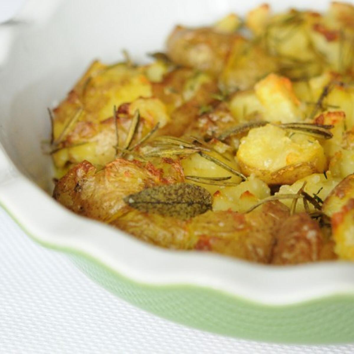 Ezen a képen: Lapos krumpli