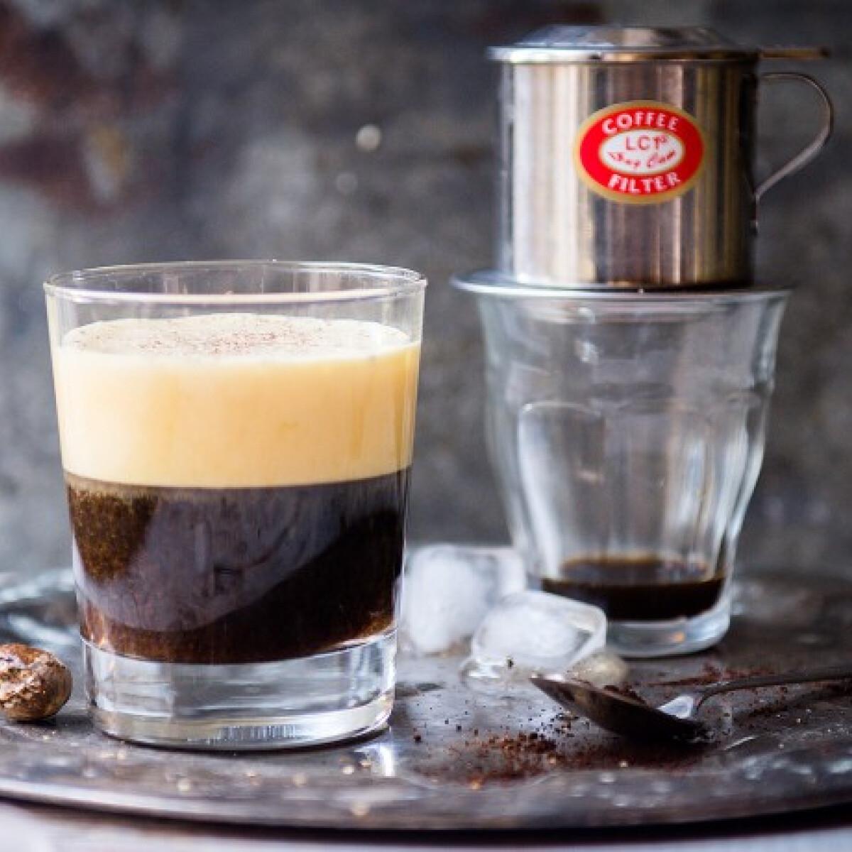 Vietnami tojásos kávé