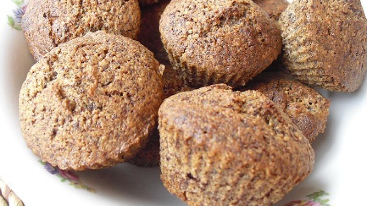 Csokis mandulás muffin Cafikától