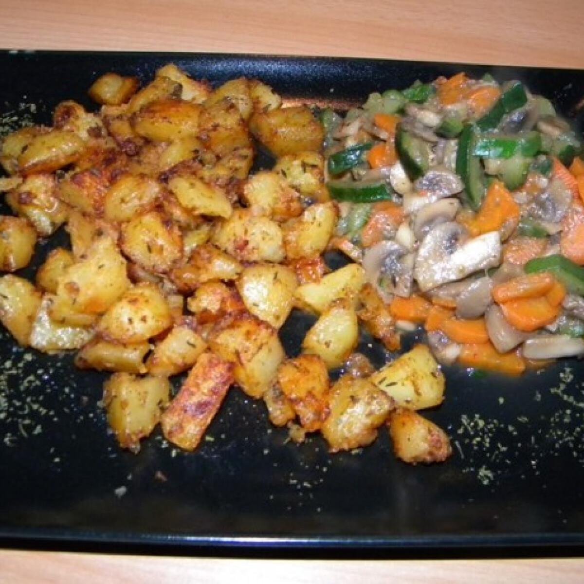 Ezen a képen: Chilis zöldségek Fancsilietől