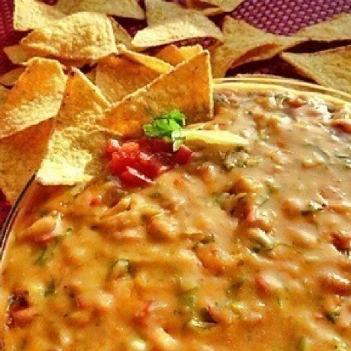 Ezen a képen: Mexikói sajtos mártogatós
