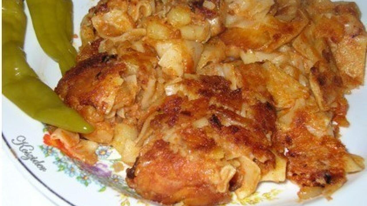 Pirított krumplis tészta 5.