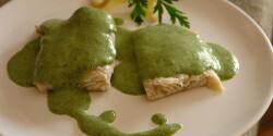 Zöldmártás halhoz