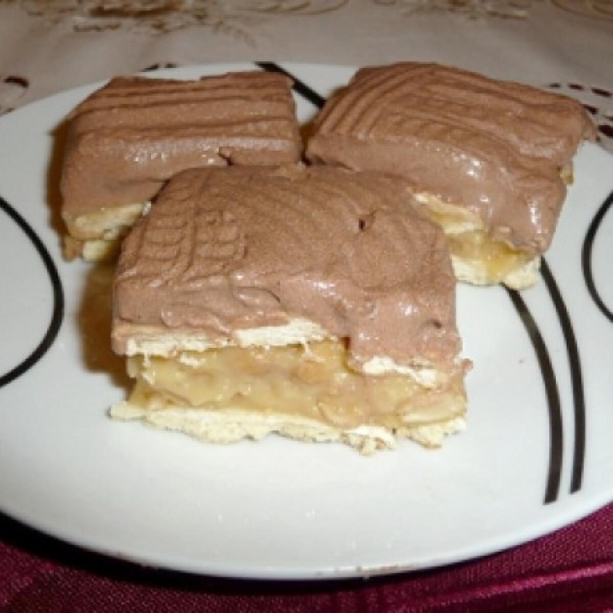 Ezen a képen: Snickers szelet Netta konyhájából