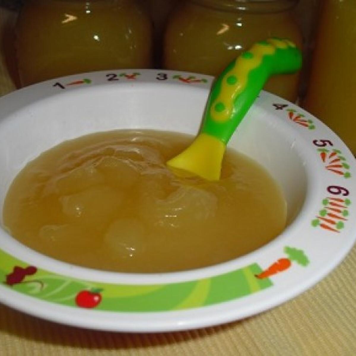 Ezen a képen: Almás - ananászos bébipapi télire