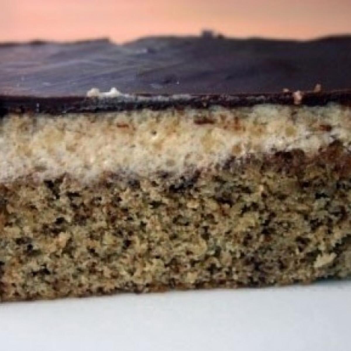 Ezen a képen: Diós krémes sütemény