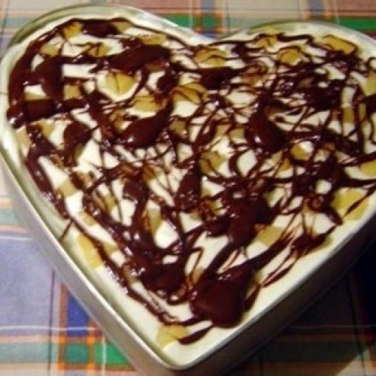 Ananászos-túrós torta