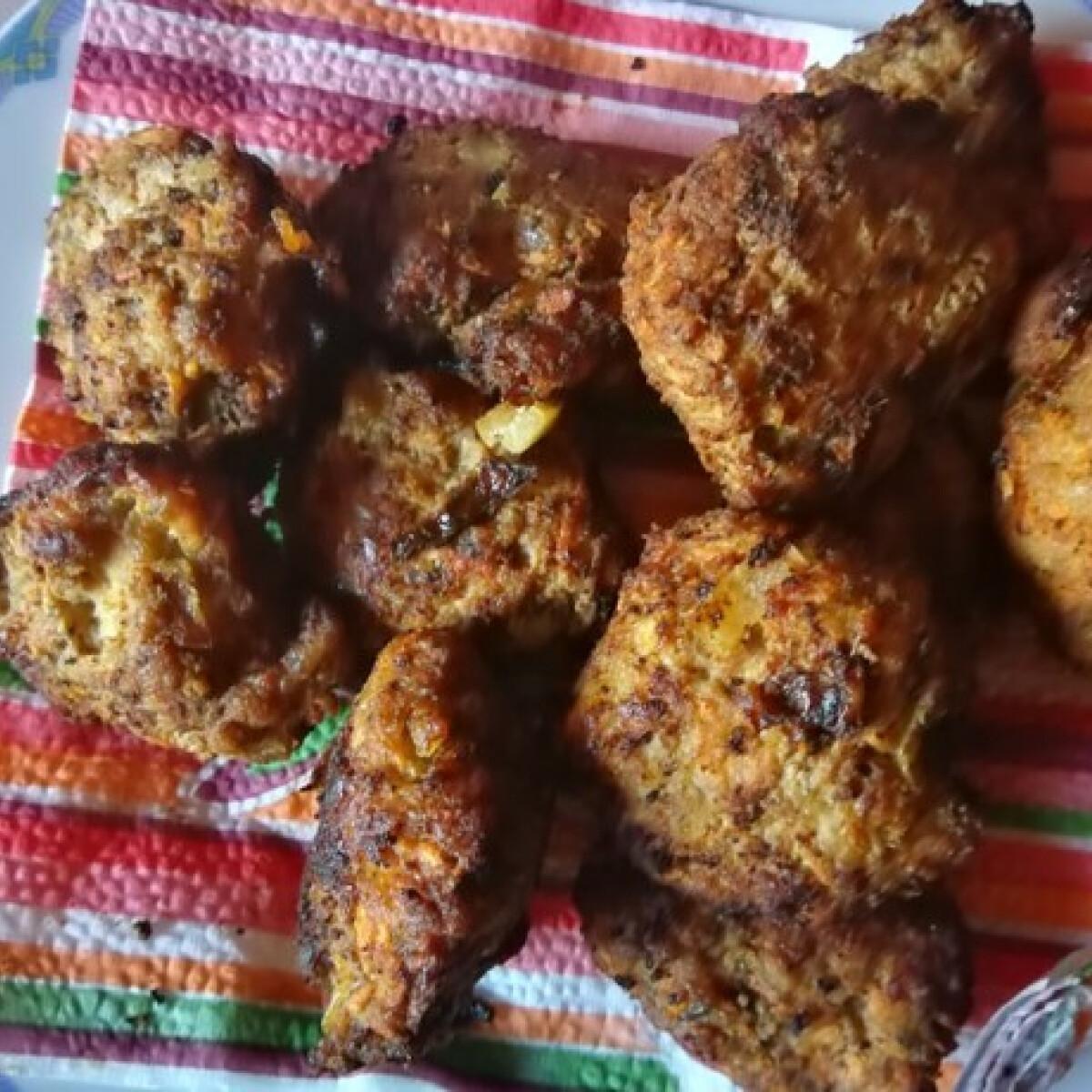 Ezen a képen: Sárgarépás fasírt Rita konyhájából