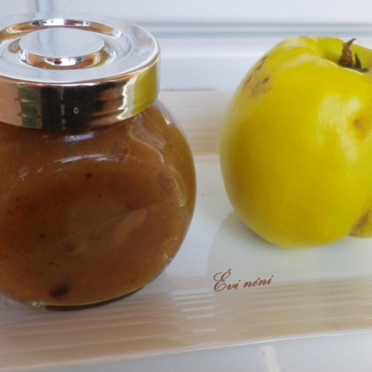 Ezen a képen: Birsalmalekvár diétásan