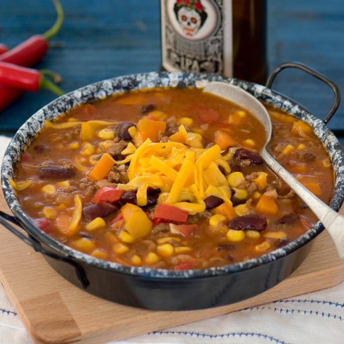 Ezen a képen: Mexikói chilis bab