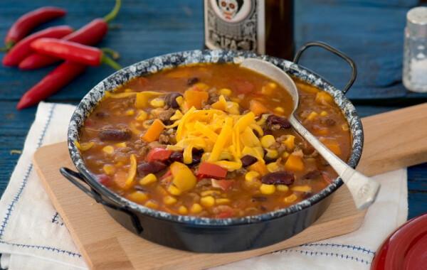 Mexikói chilis bab