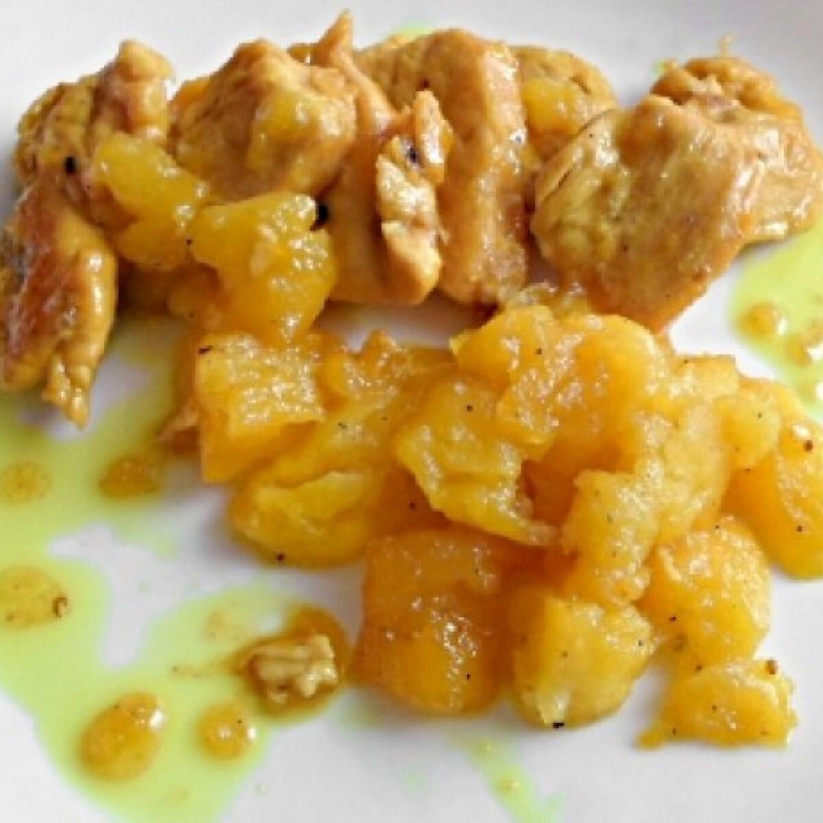 Ezen a képen: Almás-mézes csirkemell ahogy lakner készíti
