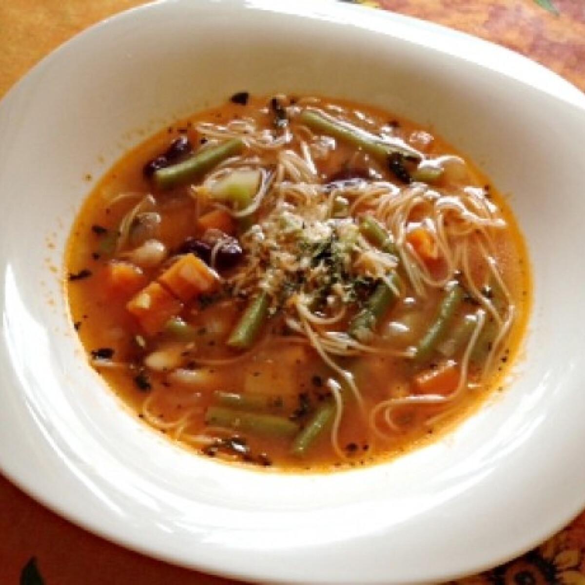 Ezen a képen: Soupe au Pistou