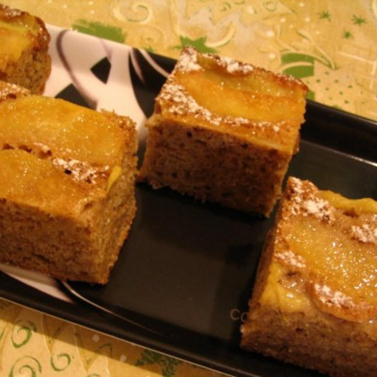 Ezen a képen: Almás süti Márti konyhájából