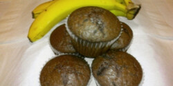 Nutellás-banános-kakaós muffin