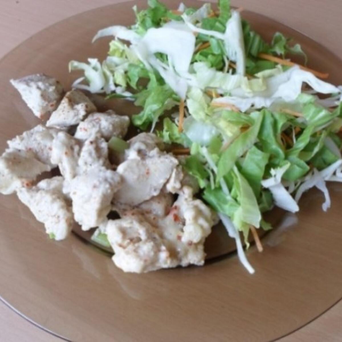 Ezen a képen: Pikáns csirkemell mikróban